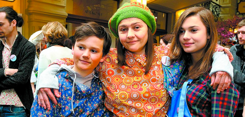 Дети Марии Голубкиной фото