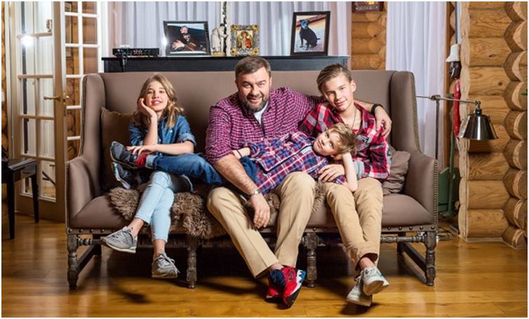 Дети Михаила Пореченкова фото
