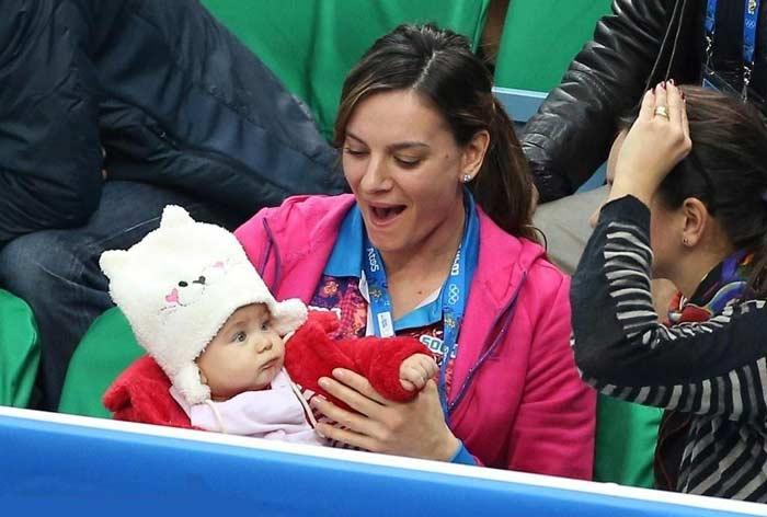 Дочь Елены Исинбаевой – Ева Петинова фото