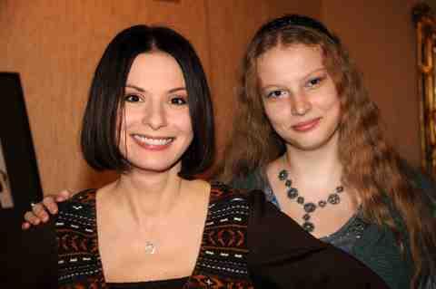 Дочь Ирины Лачиной (актриса) – Мария Будрина фото