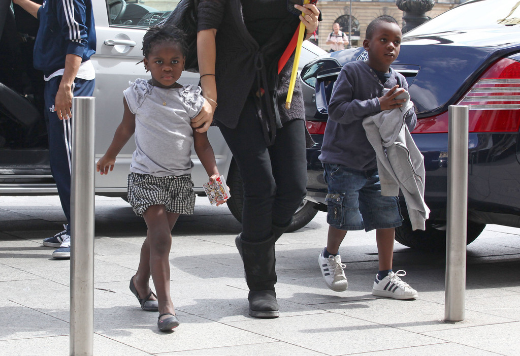 Дочь Мадонны – Мерси Джеймс Чикконе фото