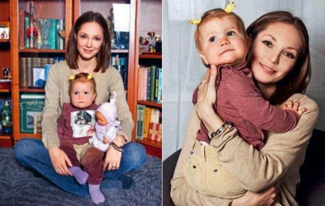 Дочь Марии Аникановой – Аглая Сипина фото