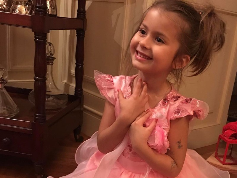 Дочь Виктории Бони – Анджелина Летиция Смерфит фото