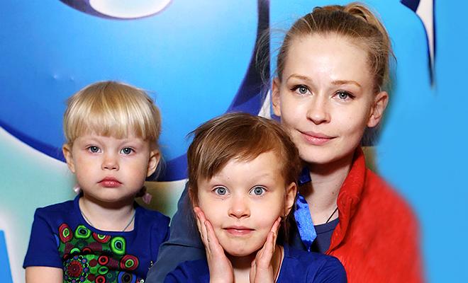 Дочь Юлии Пересильд – Мария фото