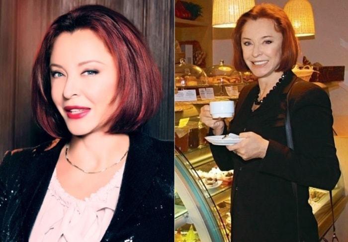 Фото Анастасии Вертинской до и после пластики