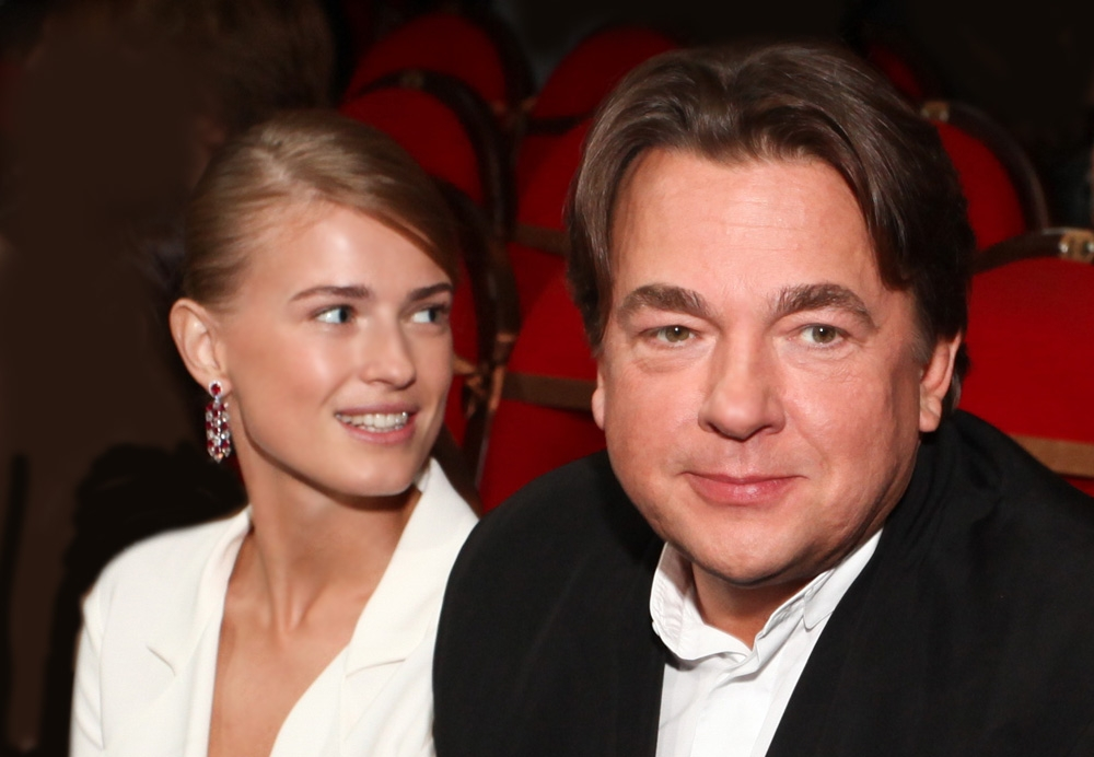 Константин Эрнст женился на Софье Заике фото