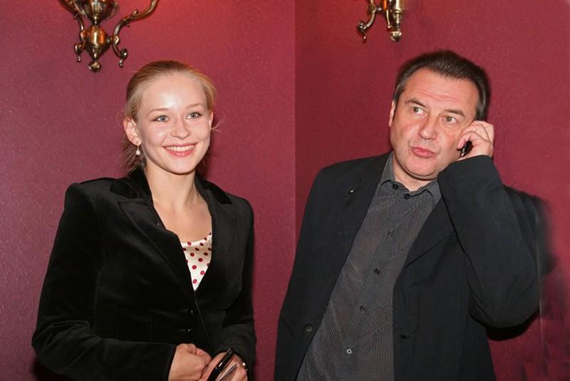 Муж Юлии Пересильд – Алексей Учитель фото
