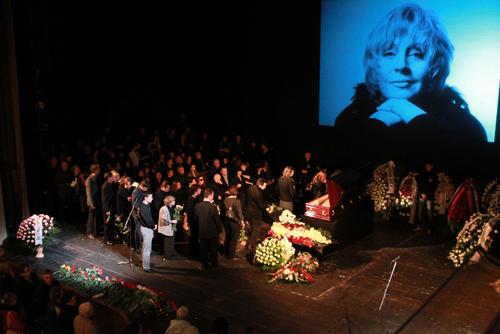 Похороны Марины Левтовой. Причина смерти актрисы фото