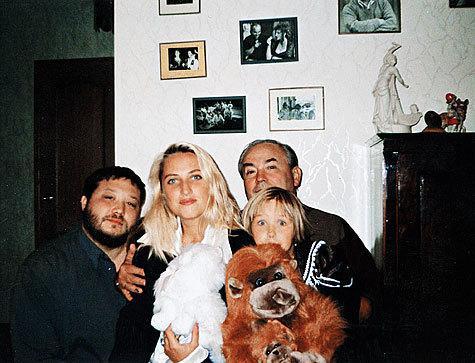 Семья Аглаи Шиловской фото