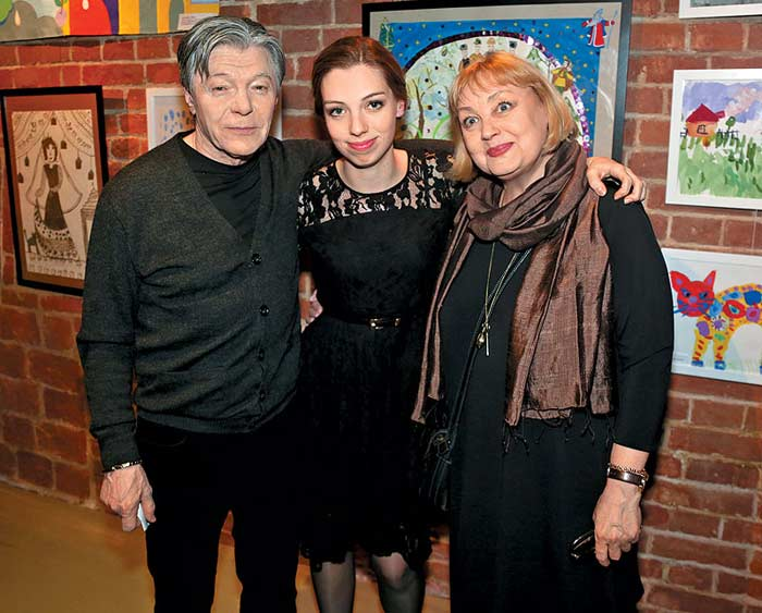 Семья Александра Збруева фото