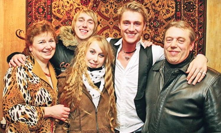Семья Алексея Воробьева фото