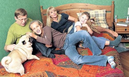 Семья Анны Ардовой фото