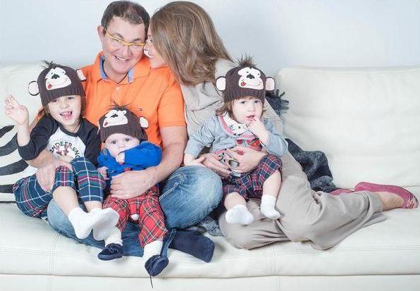Семья Дмитрия Диброва фото