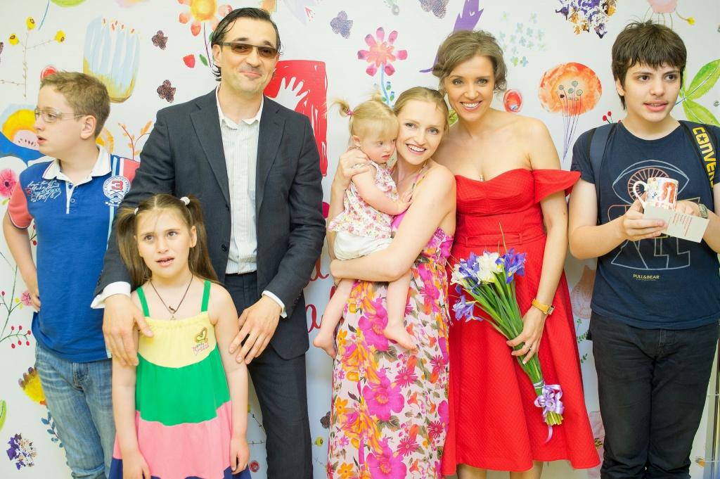 Семья Егора Бероева фото