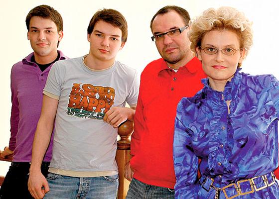 Семья Елены Малышевой фото