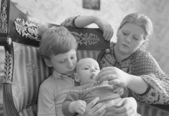Семья Ирины Муравьевой фото