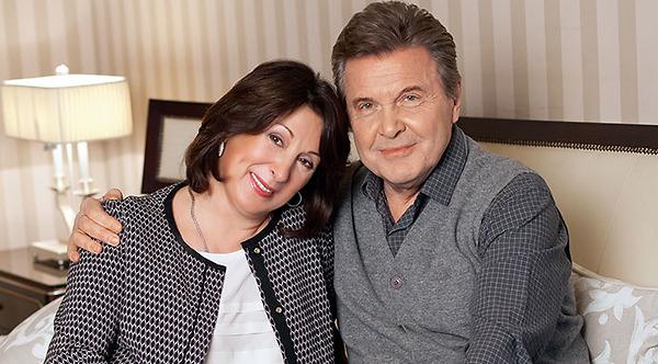 Семья Льва Лещенко фото