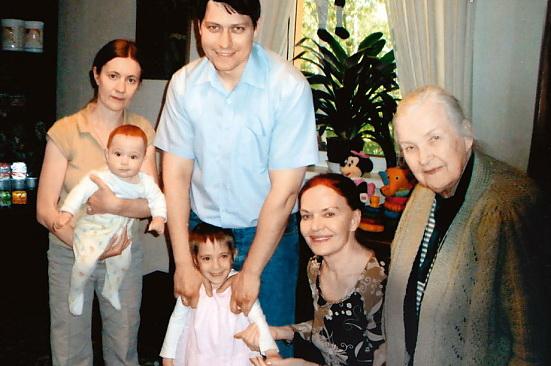 Семья Людмилы Чурсиной фото