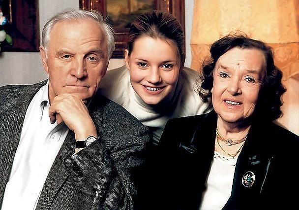Семья Михаила Ульянова фото