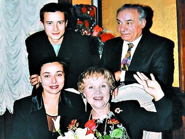 Семья Надежды Румянцевой фото
