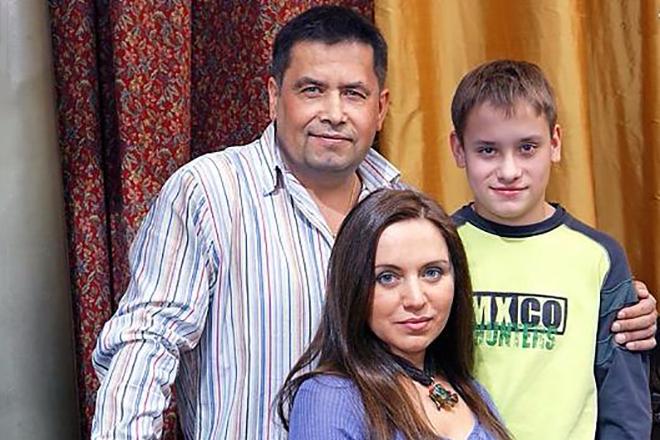Семья Николая Расторгуева фото