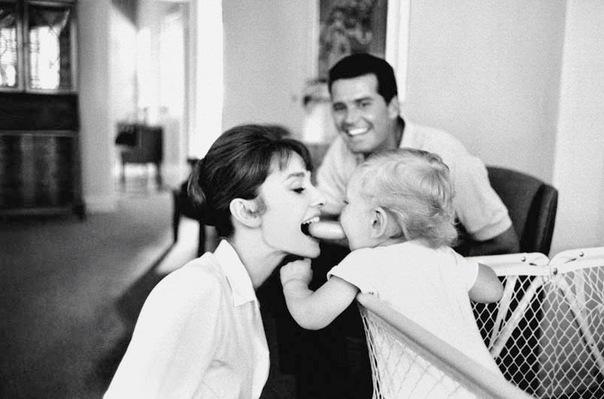 Семья Одри Хепберн фото