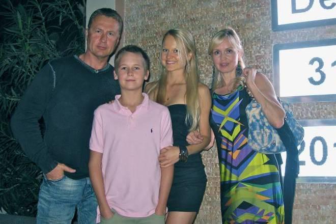 Семья Олега Штефанко фото