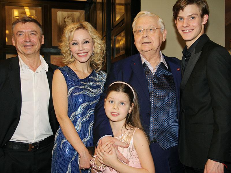 Семья Олега Табакова фото