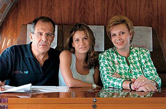 Семья Сергея Лаврова фото