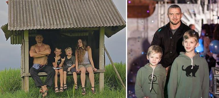 Семья Владимира Епифанцева фото