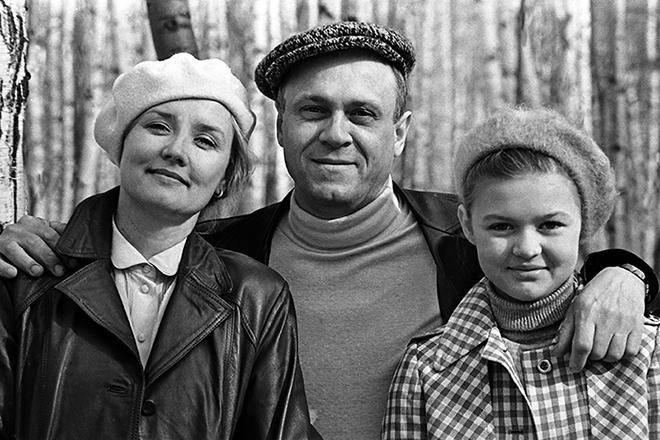 Семья Владимира Меньшова фото