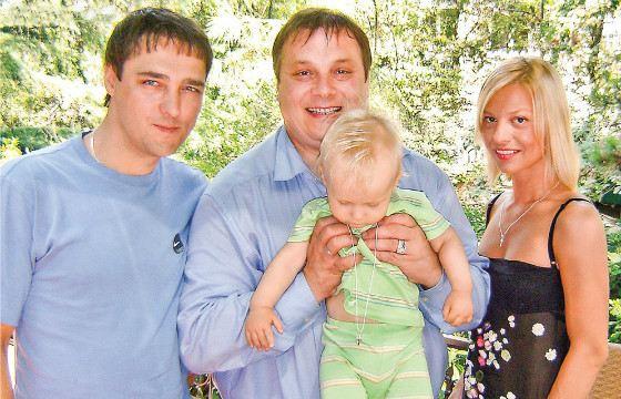 Семья Юрия Шатунова фото