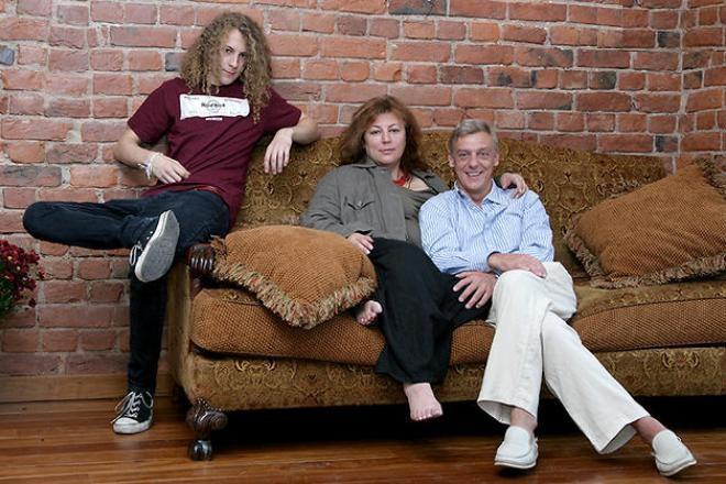Семья и дети Александра Половцева фото