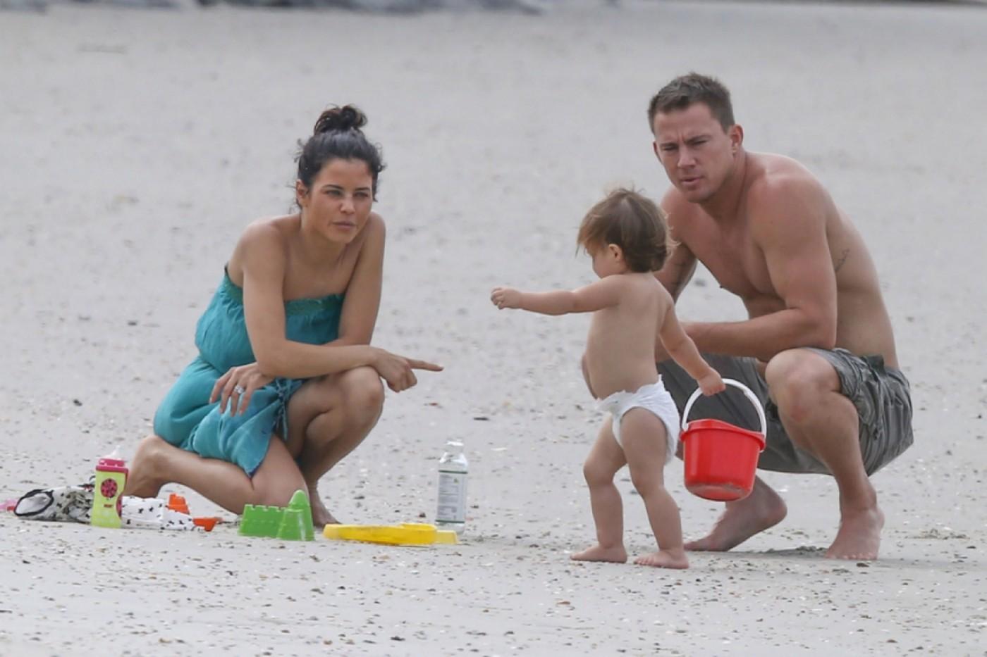 Семья и дети Ченнинга Татума фото