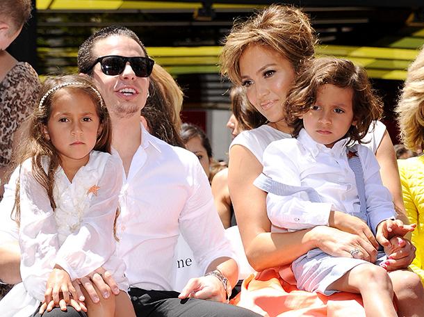 Семья и дети Дженнифер Лопес фото