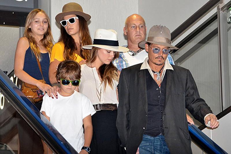 Семья и дети Джонни Деппа фото
