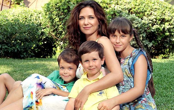 Семья и дети Екатерины Климовой фото