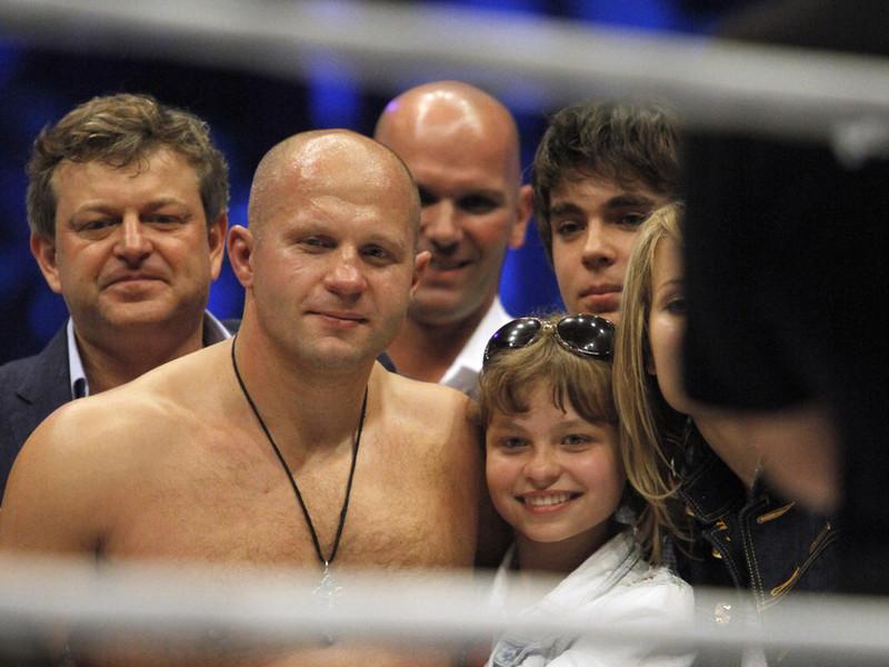 Семья и дети Федора Емельяненко фото