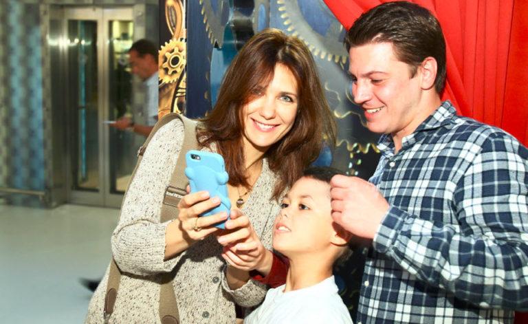 Семья и дети Гела Месхи фото
