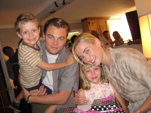Семья и дети Леонардо Ди Каприо фото