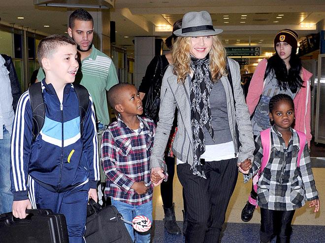 Семья и дети Мадонны фото