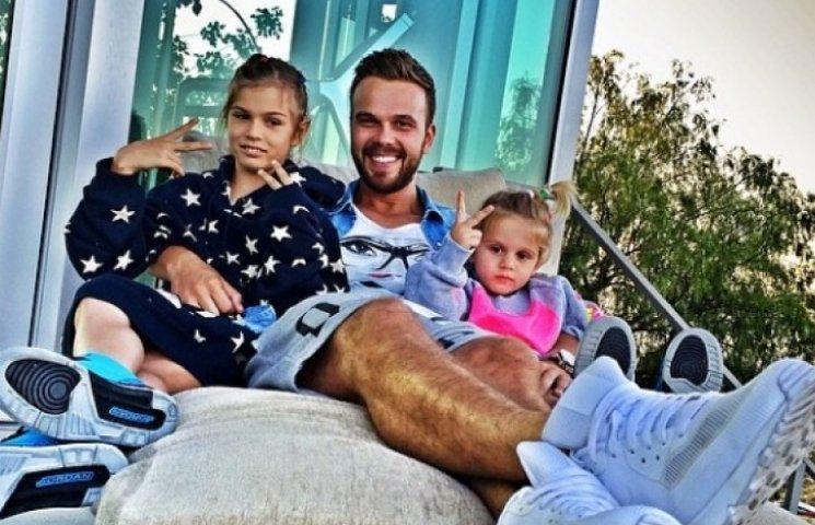 Семья и дети Максима Чернявского фото