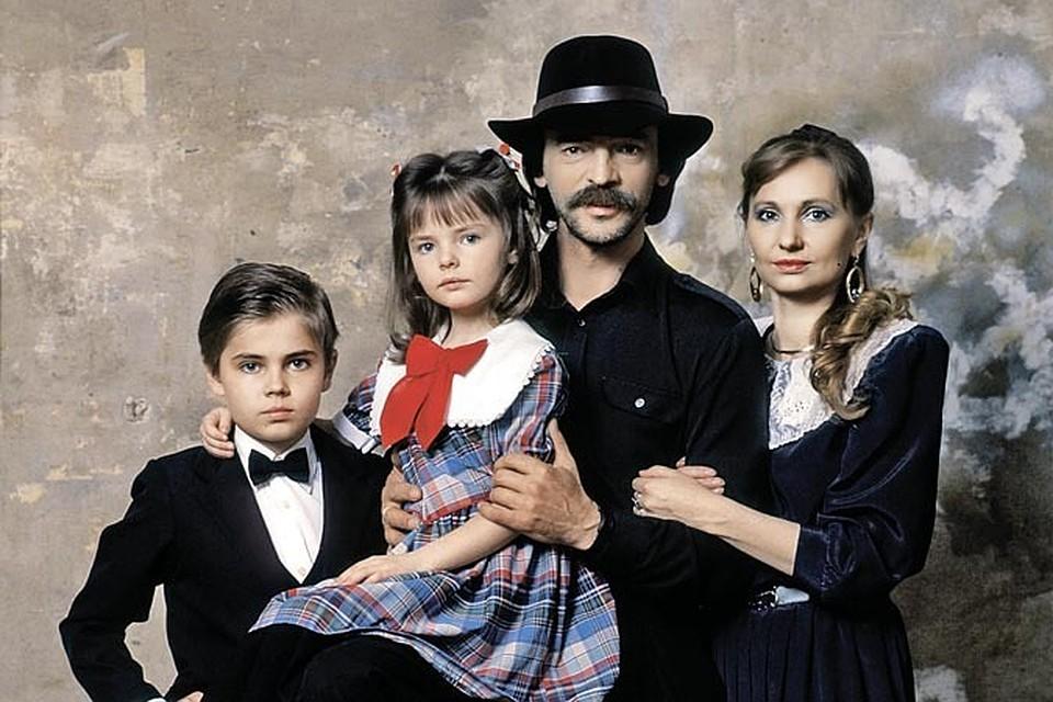 Семья и дети Михаила Боярского фото