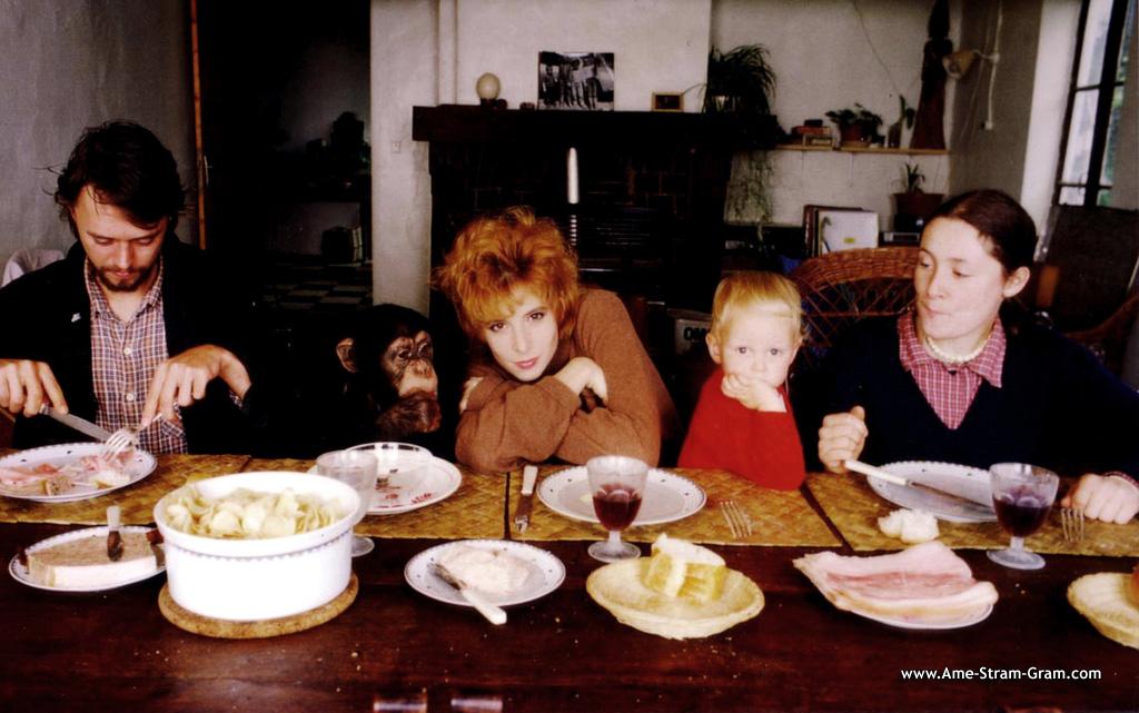 Семья и дети Милен Фармер фото