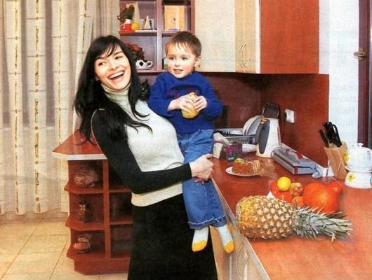 Семья и дети Надежды Грановской фото