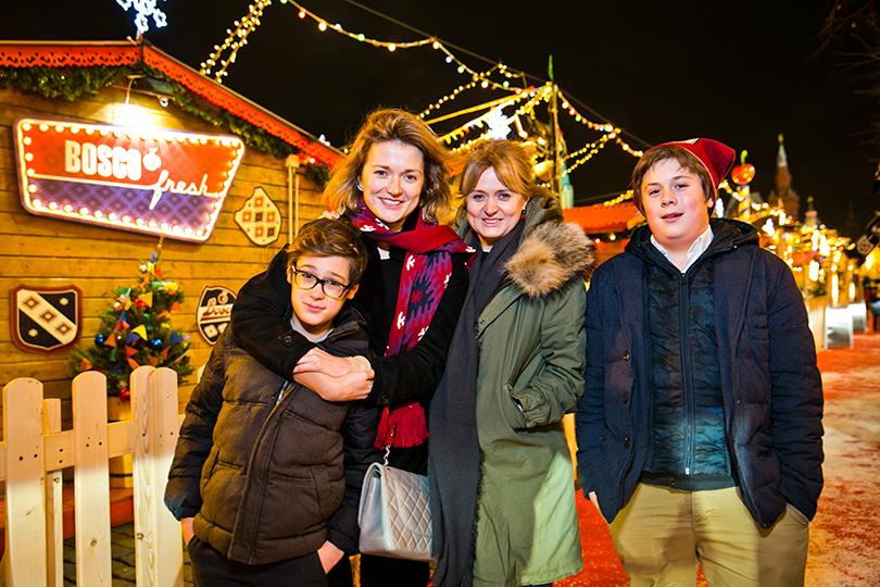 Семья и дети Надежды Михалковой фото