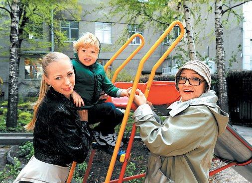 Семья и дети Нины Руслановой фото