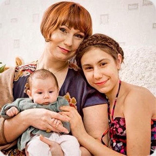 Семья и дети Ольги Тумайкиной фото