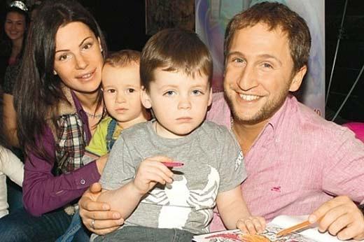 Семья и дети Оскара Кучеры фото