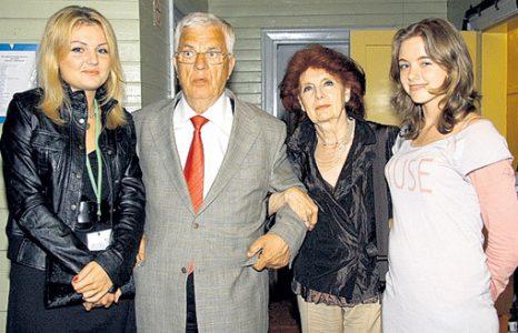 Семья и дети Раймонда Паулса фото